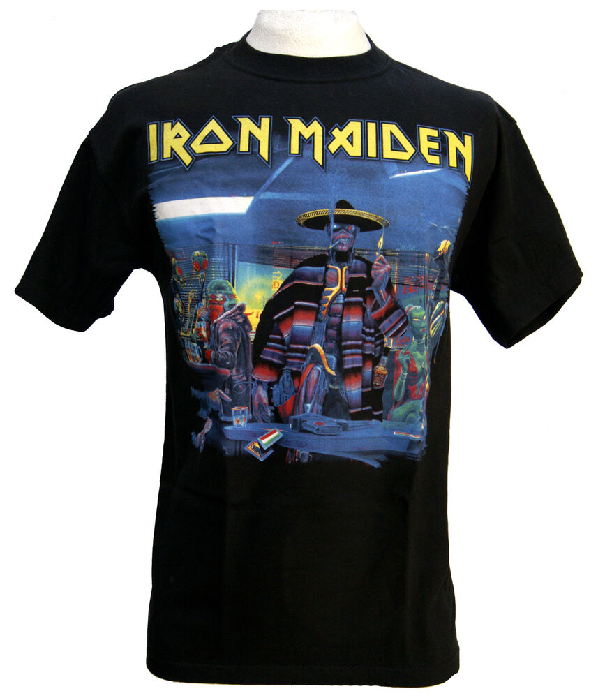 rare and exclusive shirt iron maiden limited edition ...