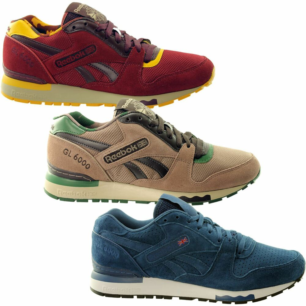 ee533c0cb8d Details about Reebok GL 6000~Mens Trainers~3 Colours~RRP £62~SIZES UK 3 to  12~SALE PRICE