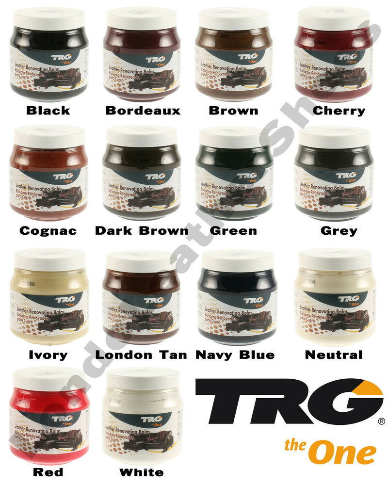trg grison balm leather dye colour restorer cream balm car bmw seat 300ml jar ebay. Black Bedroom Furniture Sets. Home Design Ideas