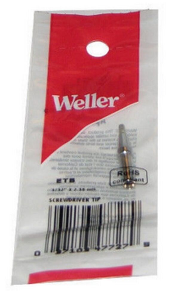 Original Weller ETB Series CHISEL Solder Tip FOR WES51 ...