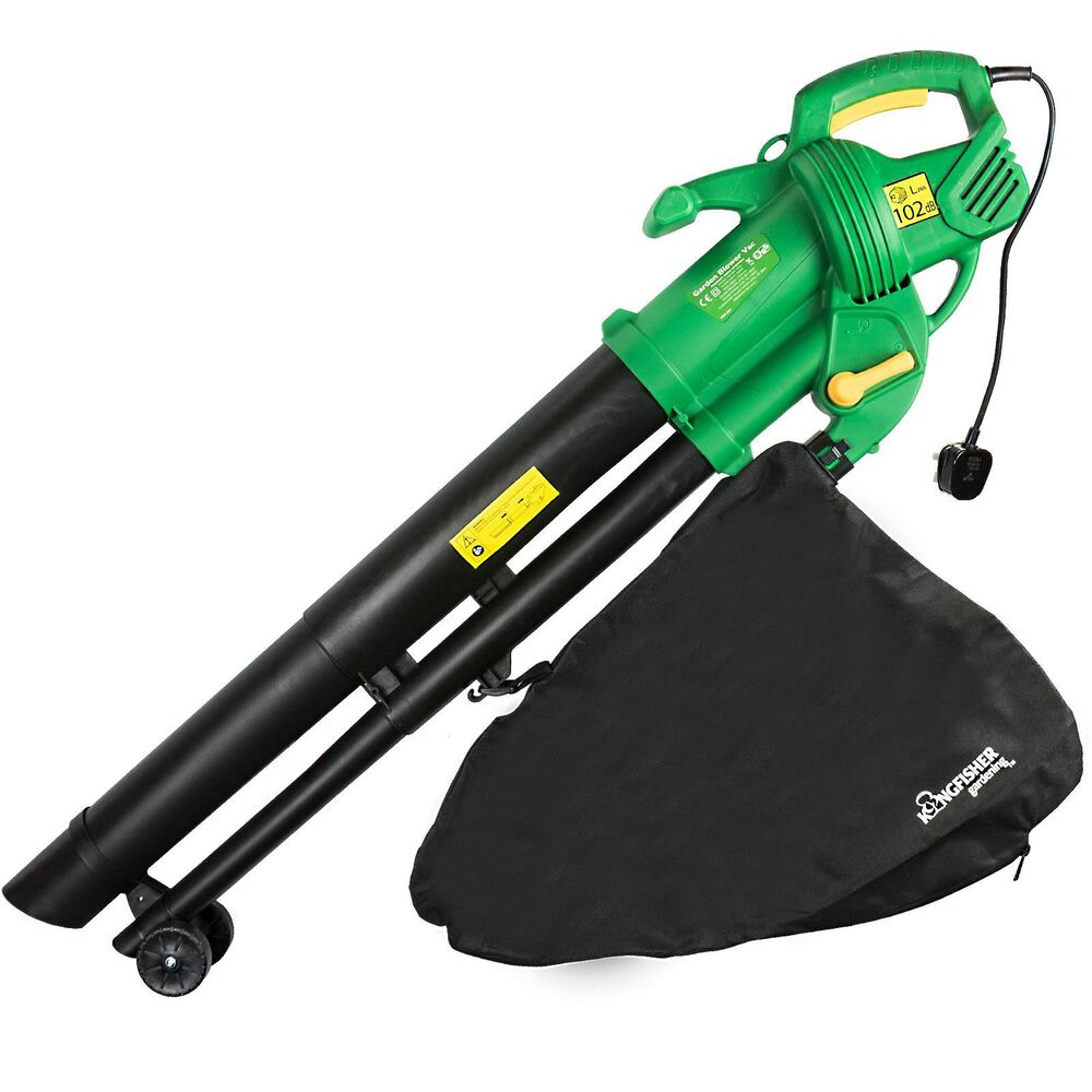 2600w Electric Garden Leaf Vacuum Blower Hoover Vac Grass