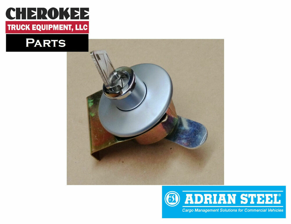 adrian steel 27702-0, old style push button lock cylinder assembly ...