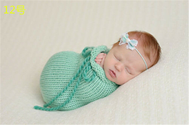 Knitting For Newborn Photography : Crochet newborn photography knit beanie costume cocoon
