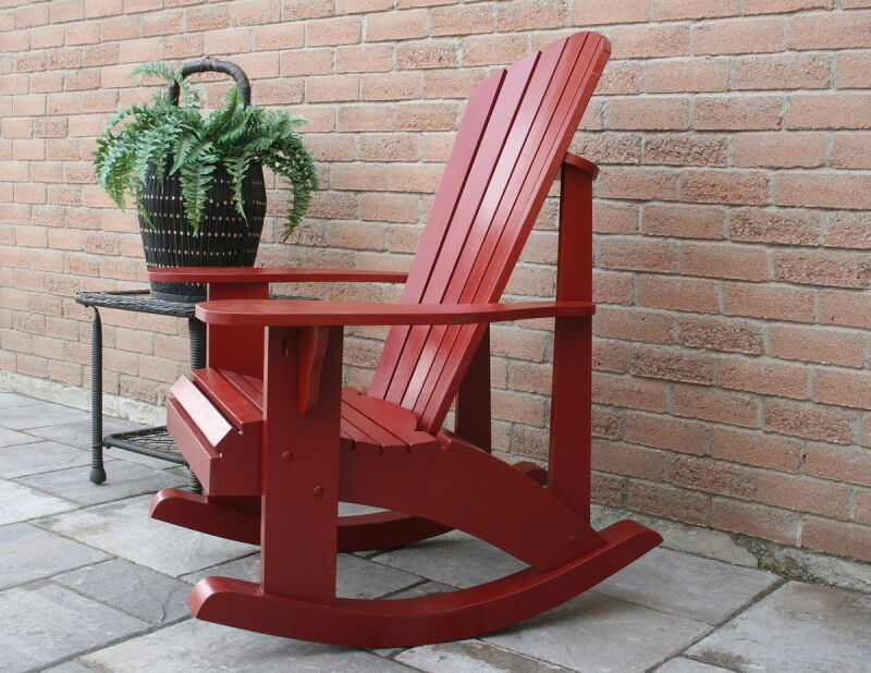 Adirondack rocking chair plans full size patterns ebay - Patterns for adirondack chairs ...