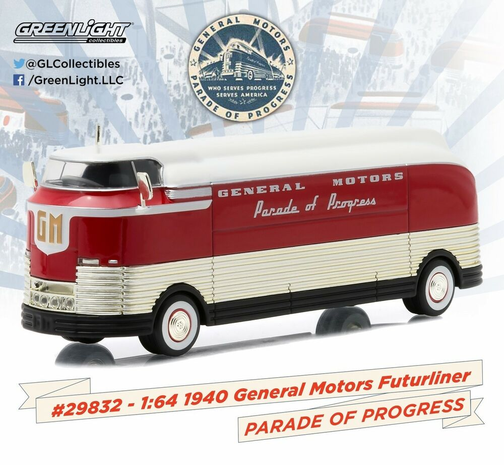 New 1 64 Greenlight Hobby Exclusive 1940 General Motors