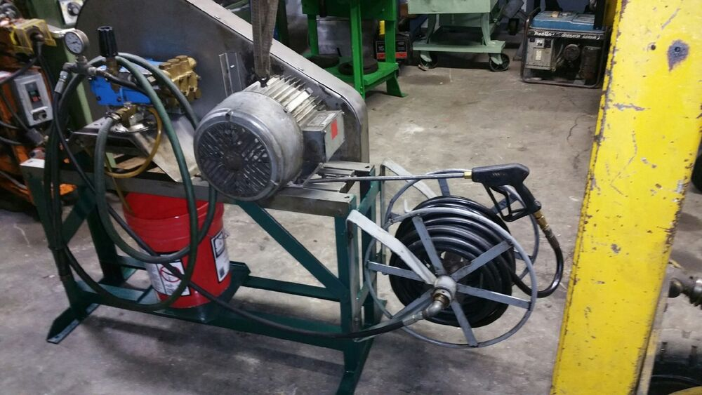 Hypro 7 5 hp industrial power washer 3 phase motor ebay for 7 5 hp 3 phase motor
