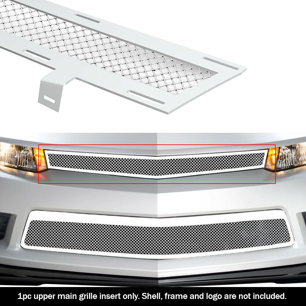 Fits 2014 2015 Chevy Camaro Ss Lt Stainless Steel Mesh