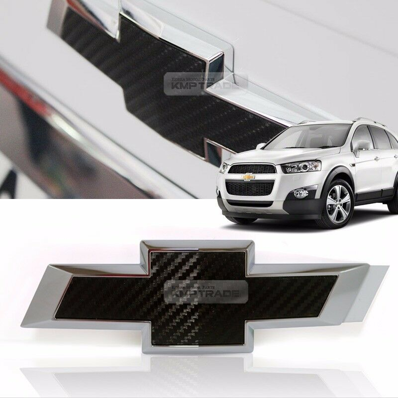 genuine parts front grille emblem logo carbon badge for. Black Bedroom Furniture Sets. Home Design Ideas