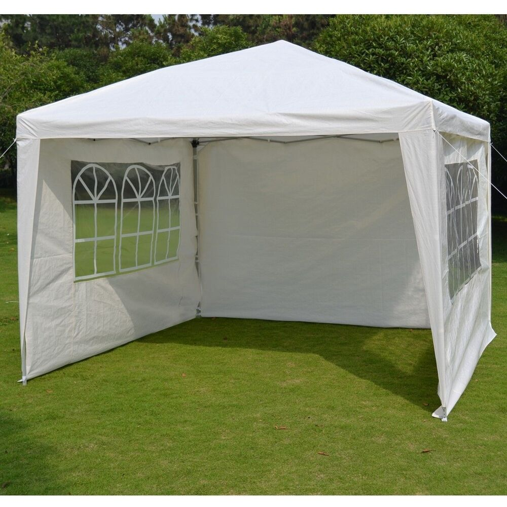 10 X10 Ez Pop Up Party Wedding Tent Folding Gazebo Beach