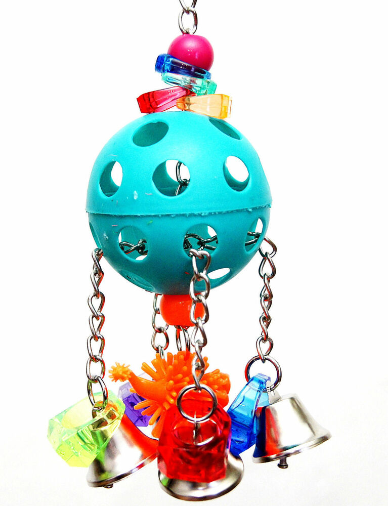 Bell Me Out Pet Parrot Bird Cage Toy Amazon Small Cockatoo