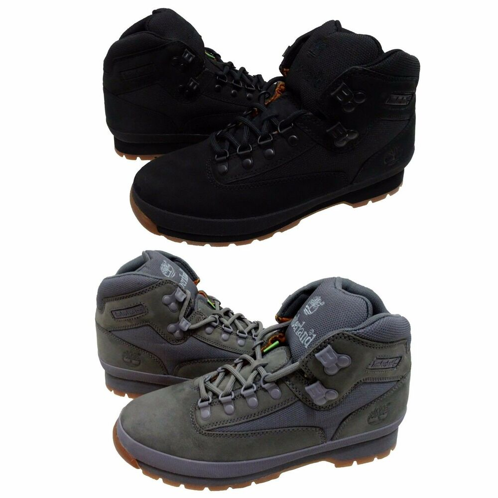 Timberland Mens Euro Hiker Mid Lace Up Hiking Trail