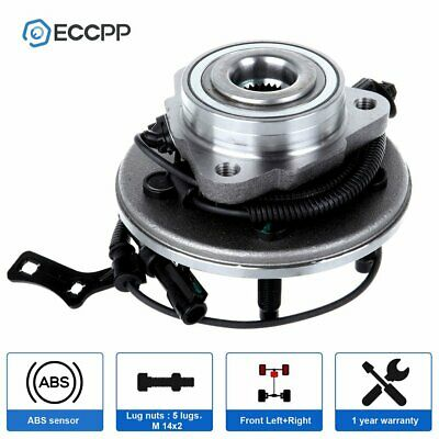 Front Wheel Hub Bearing Assembly New Ford Explorer Mountaineer Mercury W/ ABS