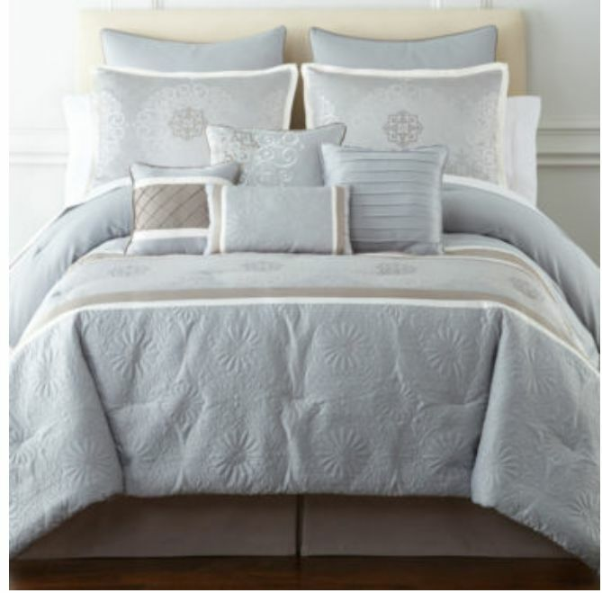 JCP Home Expressions 10-pc Bedding Set Full Size Elyse