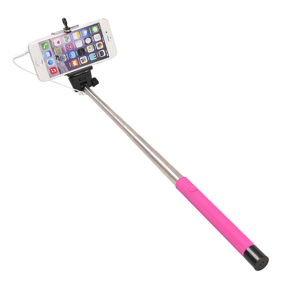 selfie stick cable take pole extendable monopod model z07 5s new in box ebay. Black Bedroom Furniture Sets. Home Design Ideas