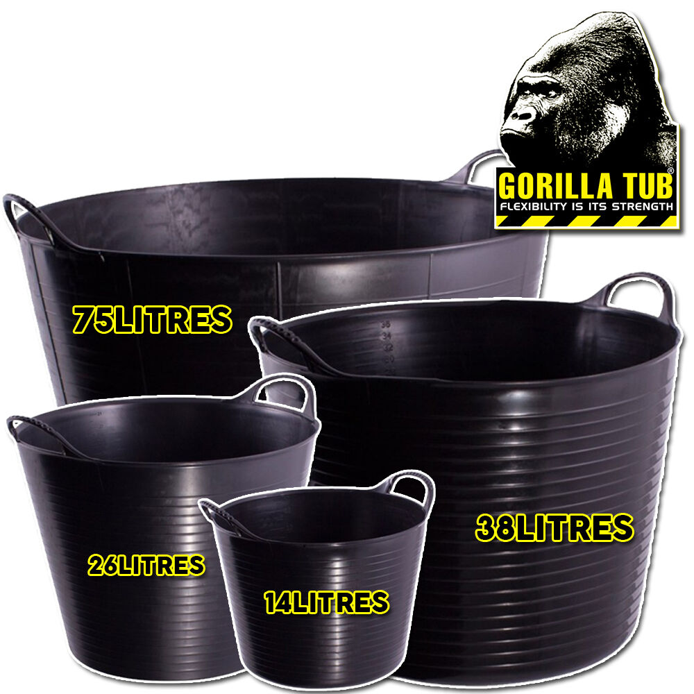 Gorilla super strong plastic flexible recycled black for How strong is acrylic glass