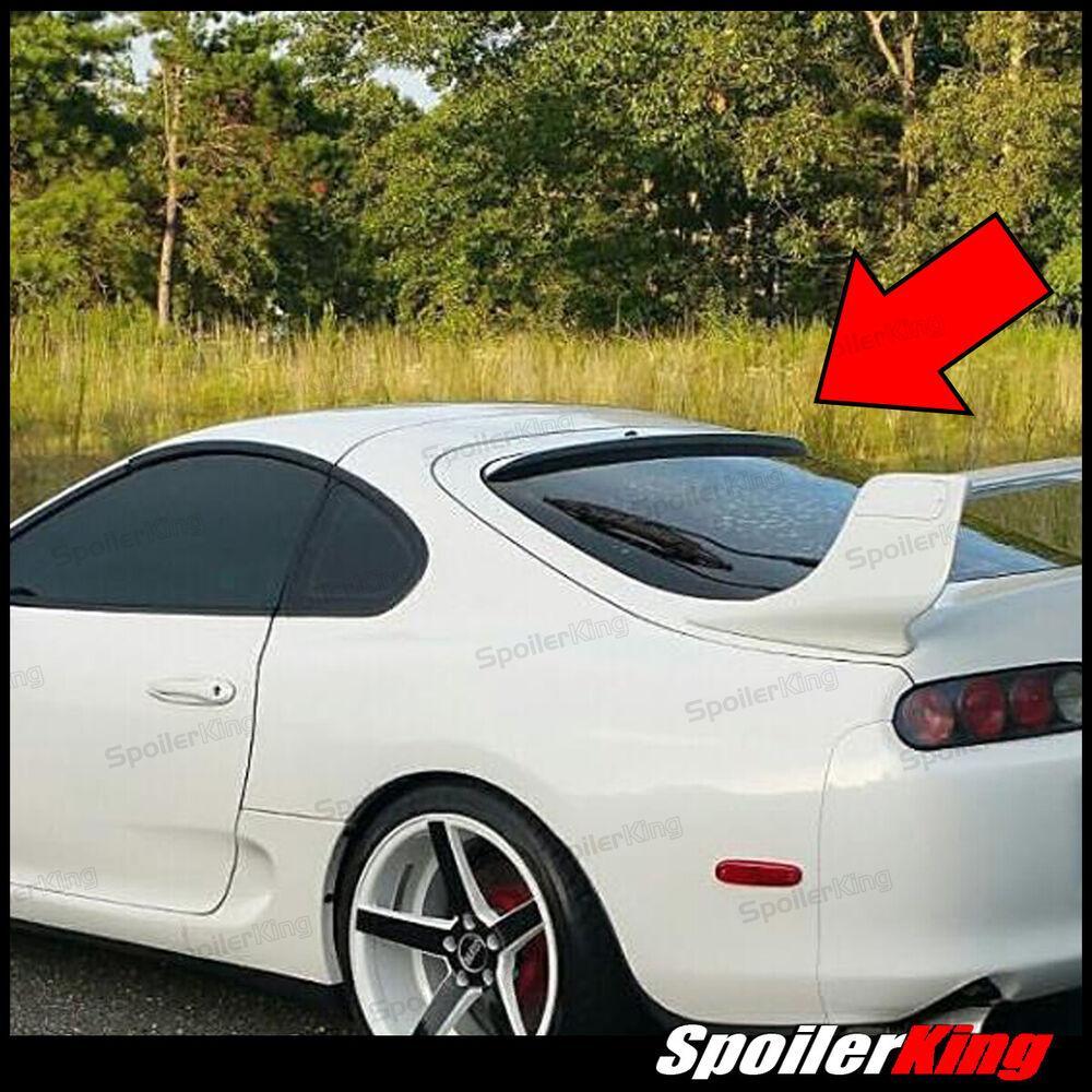 284r rear roof spoiler window wing fits toyota supra. Black Bedroom Furniture Sets. Home Design Ideas