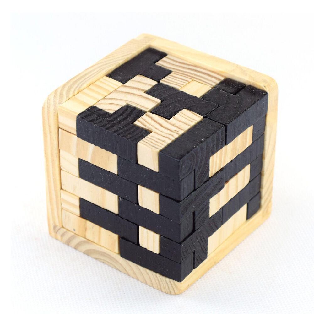 Wood Block Puzzle ~ Wooden intelligence game d wood puzzle brain teaser magic