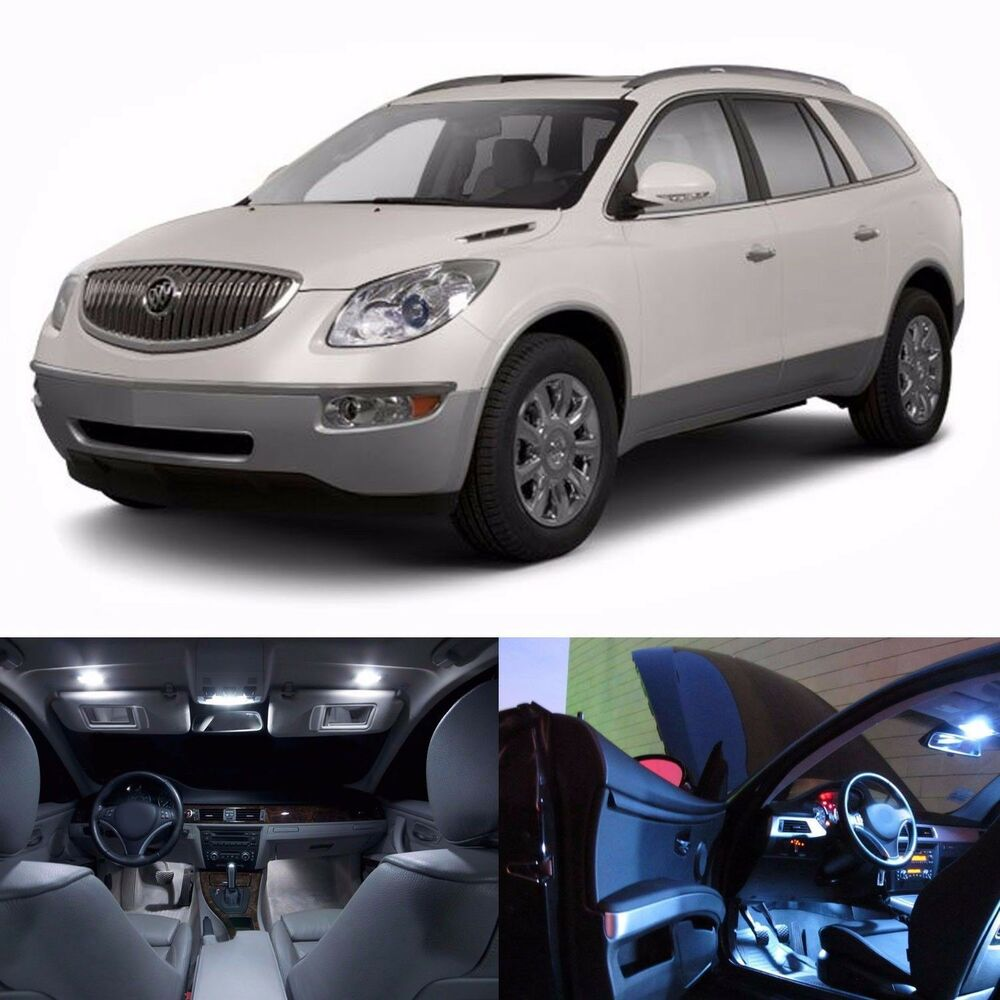 Buick Enclave 2013: LED White Lights Interior Package Kit For Buick Enclave