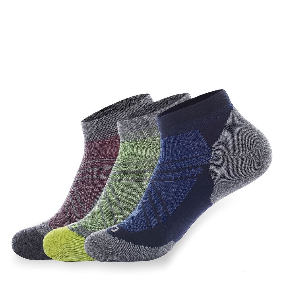3-Pack Men's Outdoor Sports Ankle Socks No Show Athletic ...