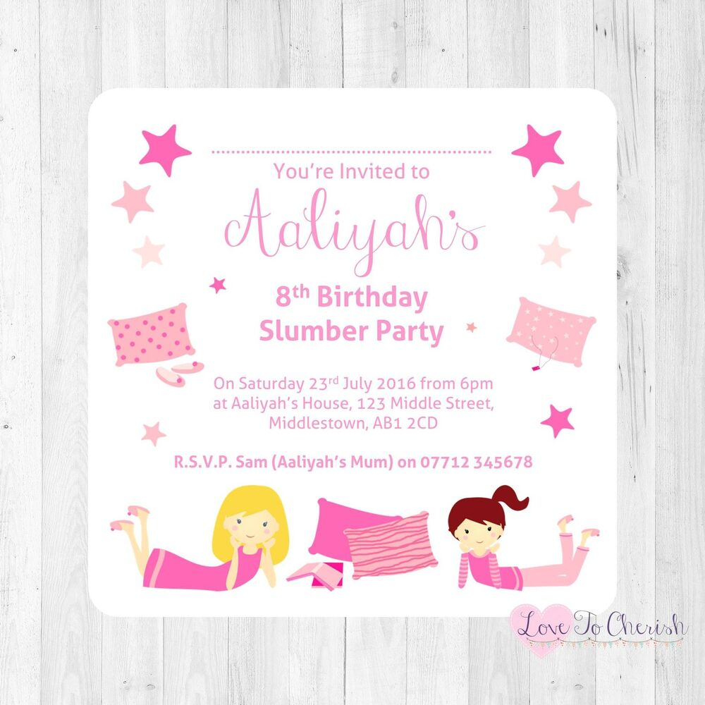 Details About Personalised INVITATIONS