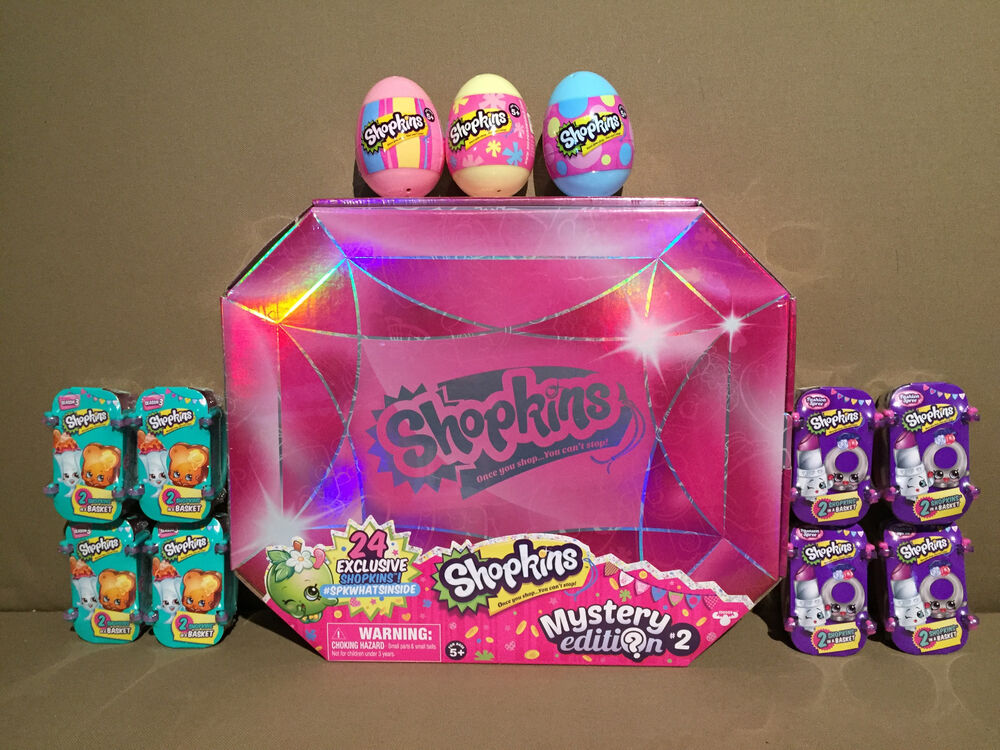 Lot Of Shopkins Toys Exclusive Mystery Edition Fashion