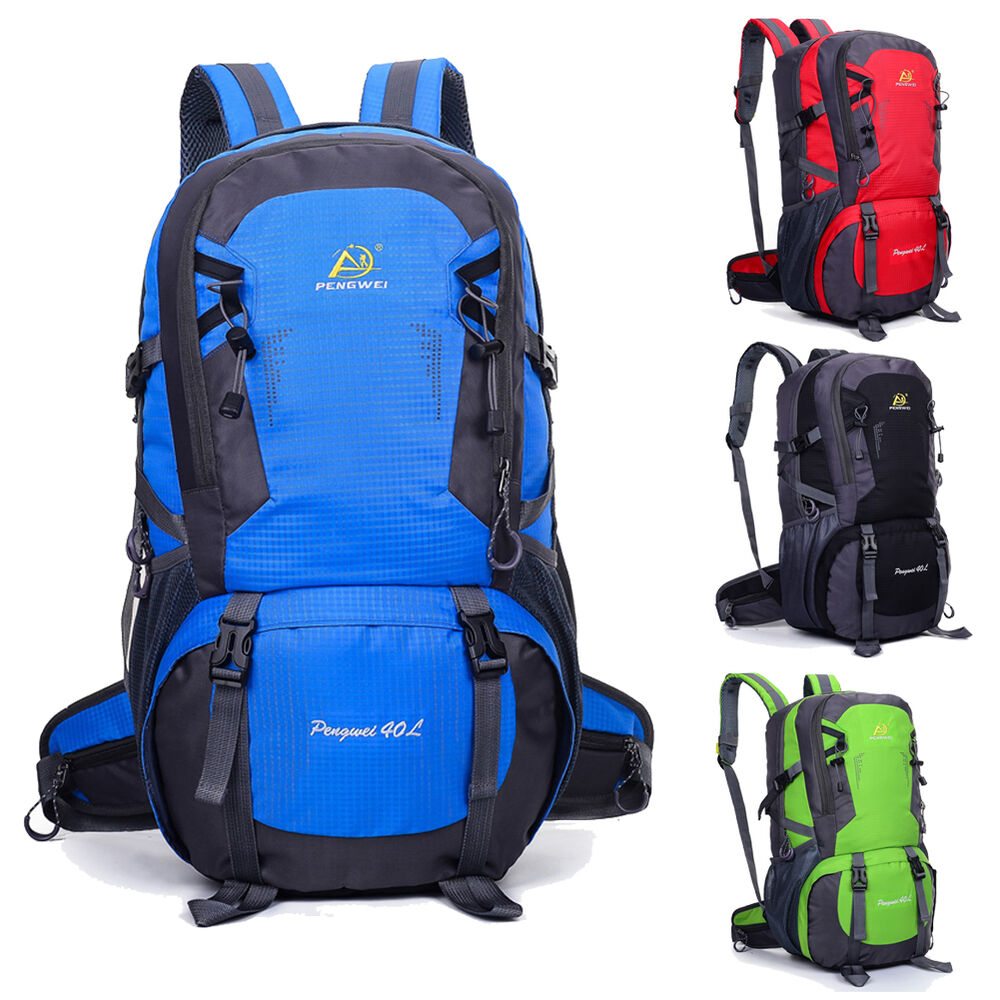 40l waterproof nylon outdoor backpack athletic sport for Outdoor rucksack