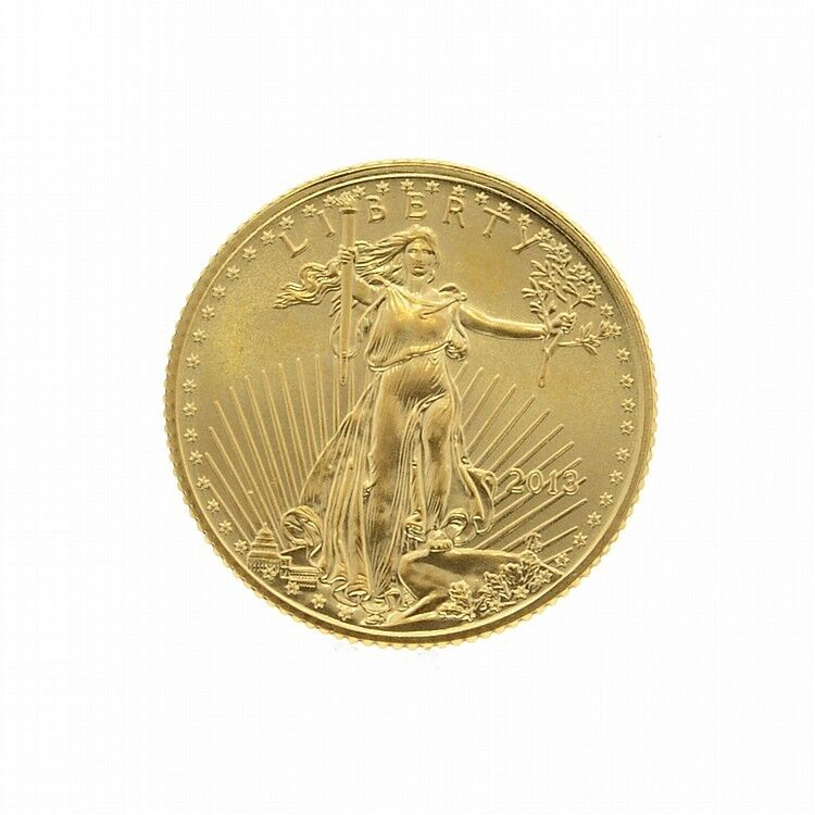 2013 1 10 Oz American Eagle 5 Gold Coin Ebay
