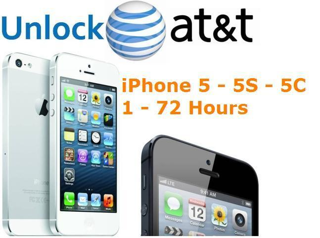 at t iphone 5 unlock iphone 5 5s 5c at amp t factory unlock code service 100 13507