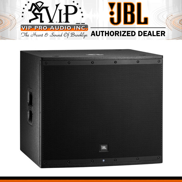 jbl eon618s dj club active 18 powered subwoofer sub 1000w amplified eon618 ebay. Black Bedroom Furniture Sets. Home Design Ideas