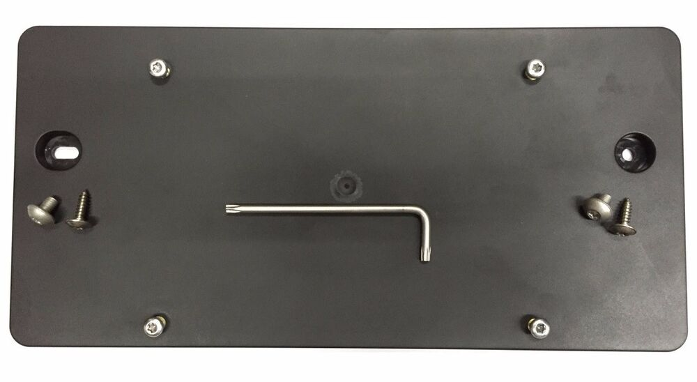 REAR LICENSE PLATE BRACKET FOR AUDI A4 2002-2008 + 8 Unique Screws & Wrench NEW   eBay