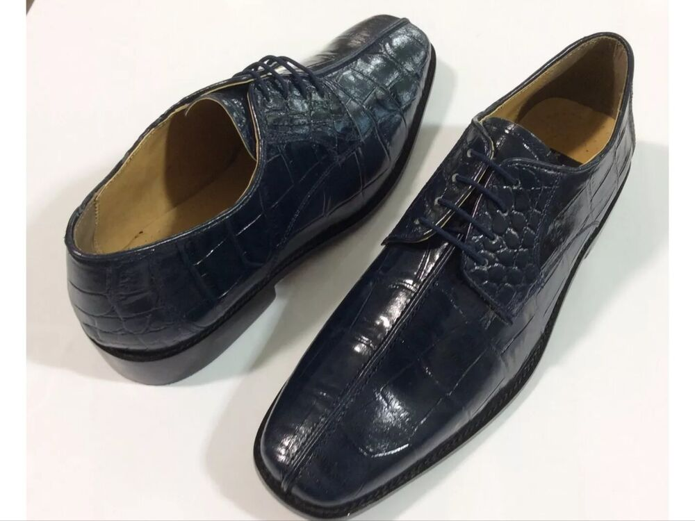 Men S Dress Shoes Liberty Leather Upper Oxford Navy