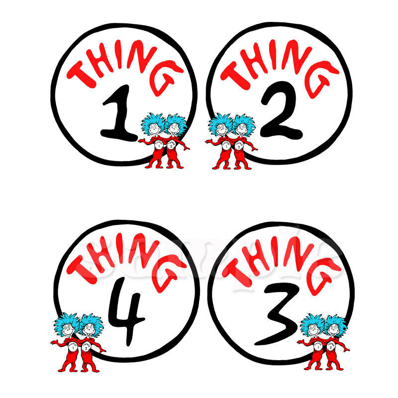 Lucrative image regarding thing 1 and thing 2 printable iron on transfer