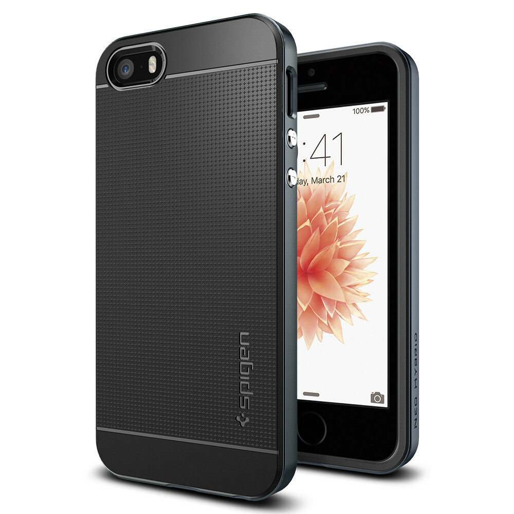 spigen neo hybrid cover case for iphone se 5s 5 ebay. Black Bedroom Furniture Sets. Home Design Ideas