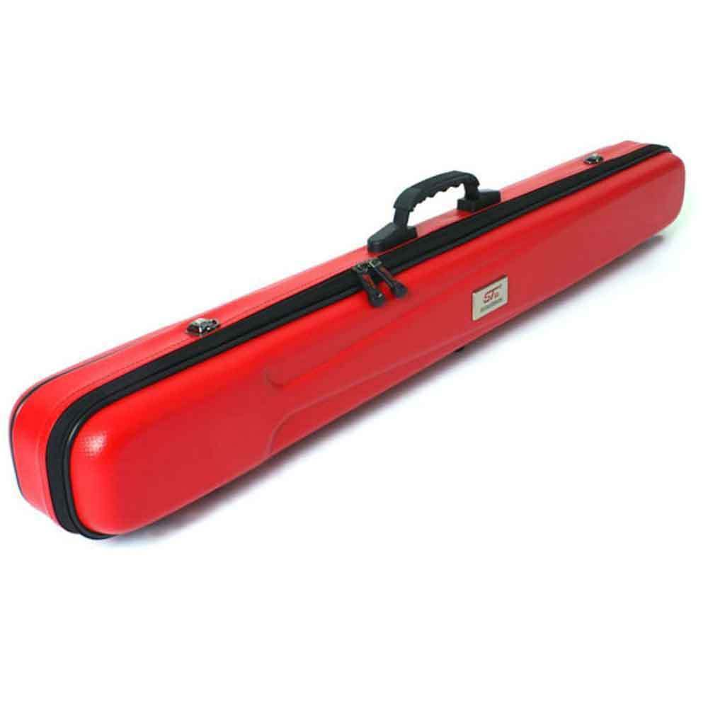 Fishing fly rod case travel hard case st 10 red ebay for Fishing rod travel tubes