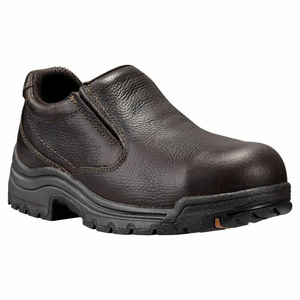 Timberland PRO Titan 53534 Mens Alloy Safety Toe Slip On Work Shoes | EBay