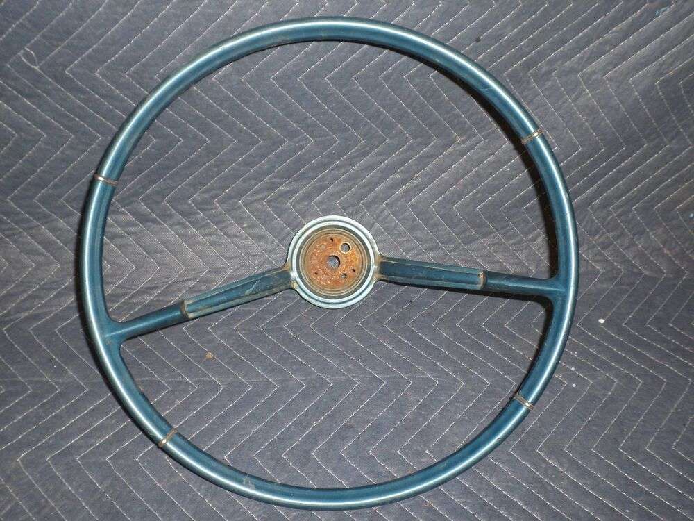 chevy cadillac buick pontiac original steering wheel impala biscayne bonneville ebay. Black Bedroom Furniture Sets. Home Design Ideas