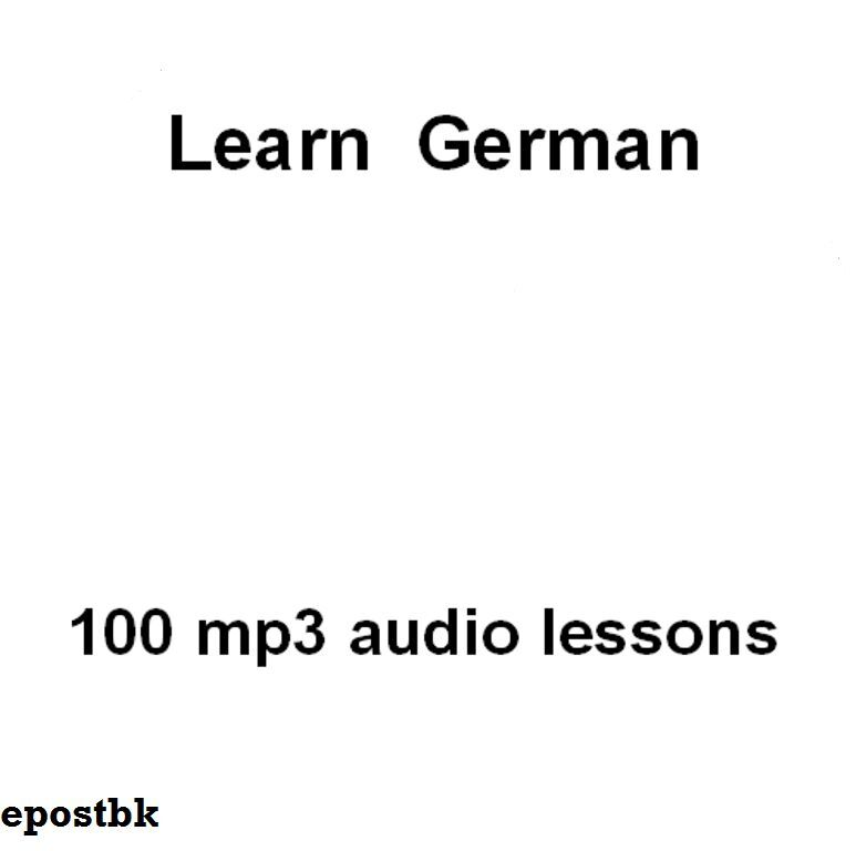 ENGLISH - GERMAN AUDIO COURSE - LES 1 - YouTube