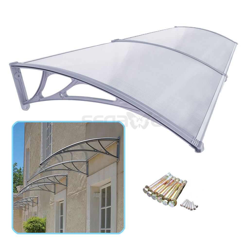 40 x 80 diy door balcony window outdoor awning canopy for Balcony awning