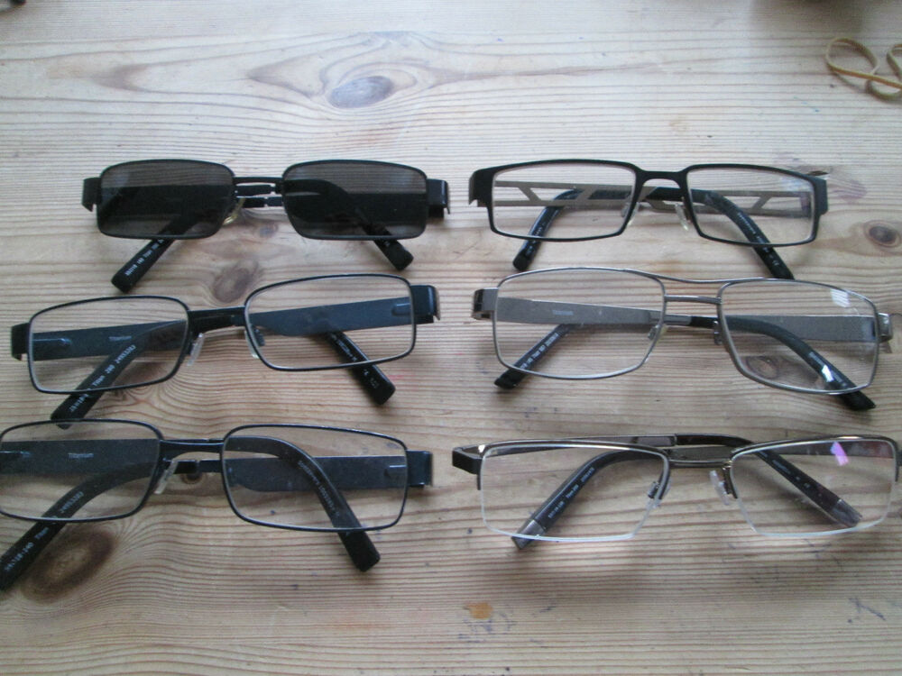 Broken Glasses Frame Specsavers : Specsavers Titan glasses frames. Various models. eBay