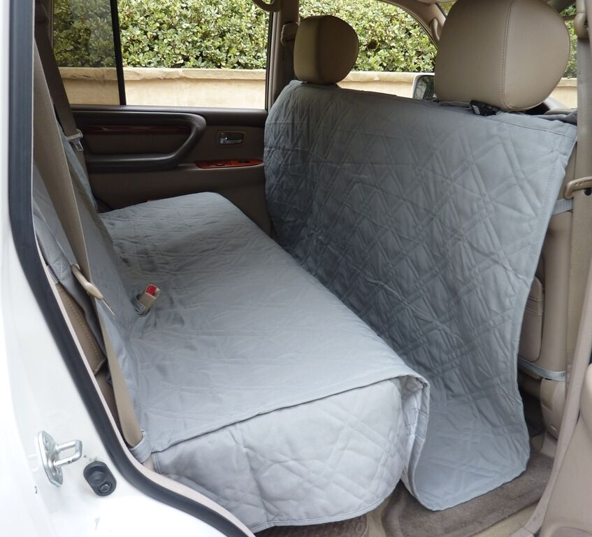 Suv Truck Car Back Seat Cover For Dogs And Cats Quilted