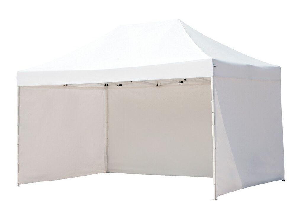 Portable Enclosed Canopy : Ft pop up canopy commercial portable with