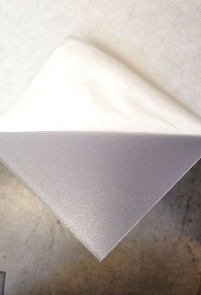 Clear Frosted Acrylic Plexiglass 1 8 Quot You Pick The Size