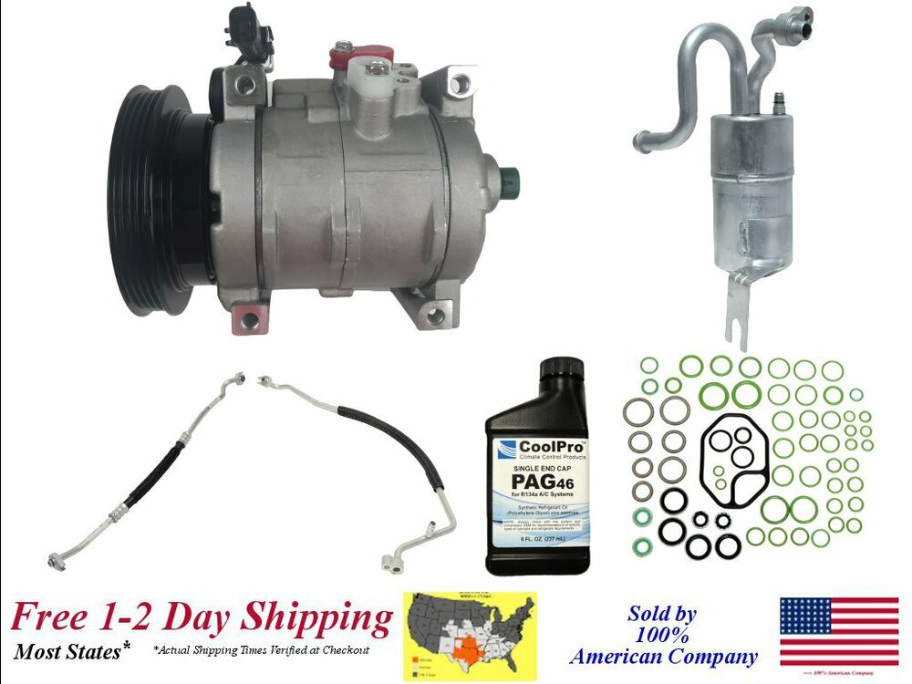 new a c ac compressor kit for 2005 chrysler pt cruiser 2. Black Bedroom Furniture Sets. Home Design Ideas