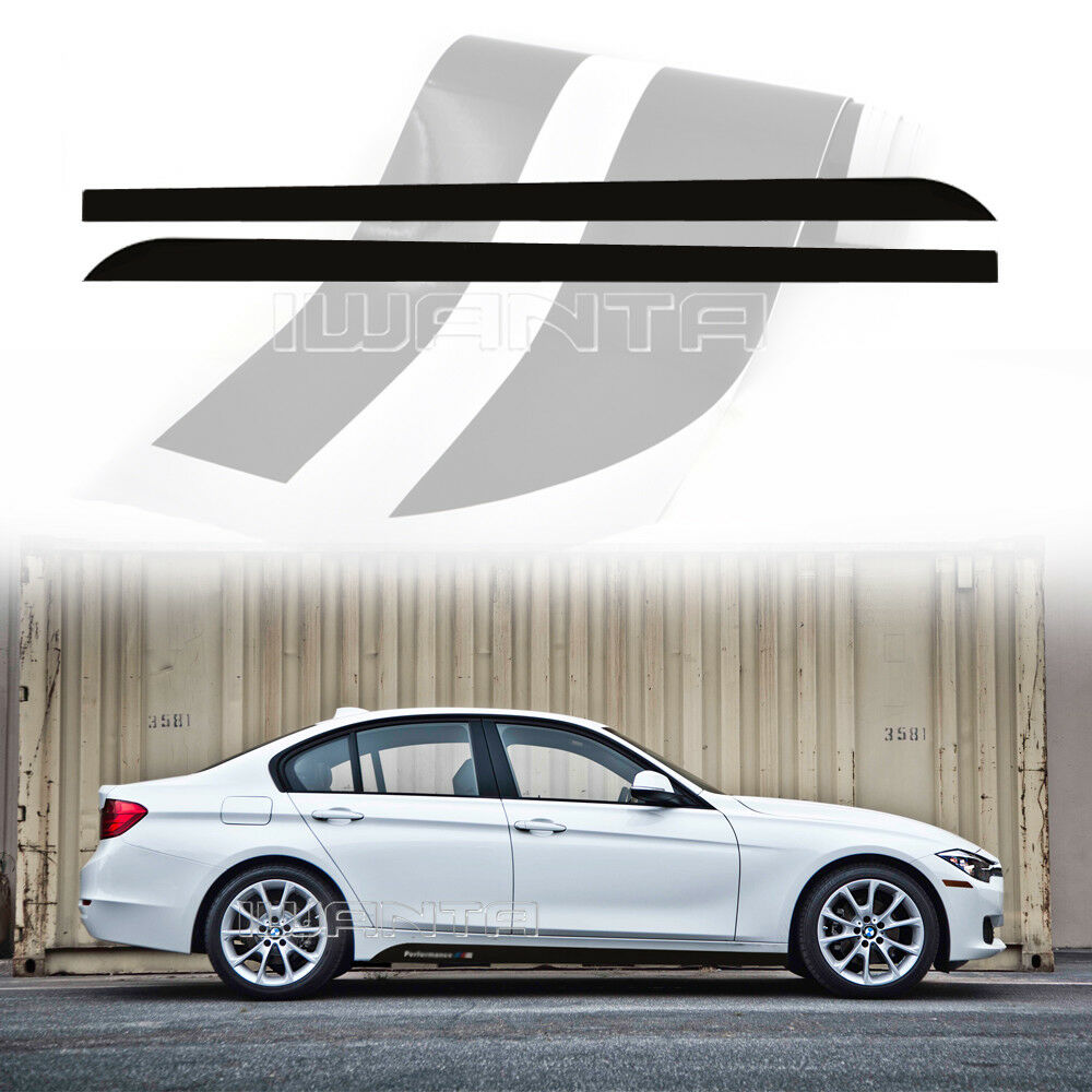 4 Color M Performance Side Skirt Stripe Sticker Decal For