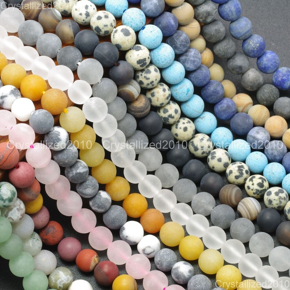 Beads & Jewelry Making Natural Matte Multi-colored Hematite 4mm Frosted Gems Stones Round Ball Loose Spacer Beads 15 5 Strands/ Pack Harmonious Colors Back To Search Resultsjewelry & Accessories