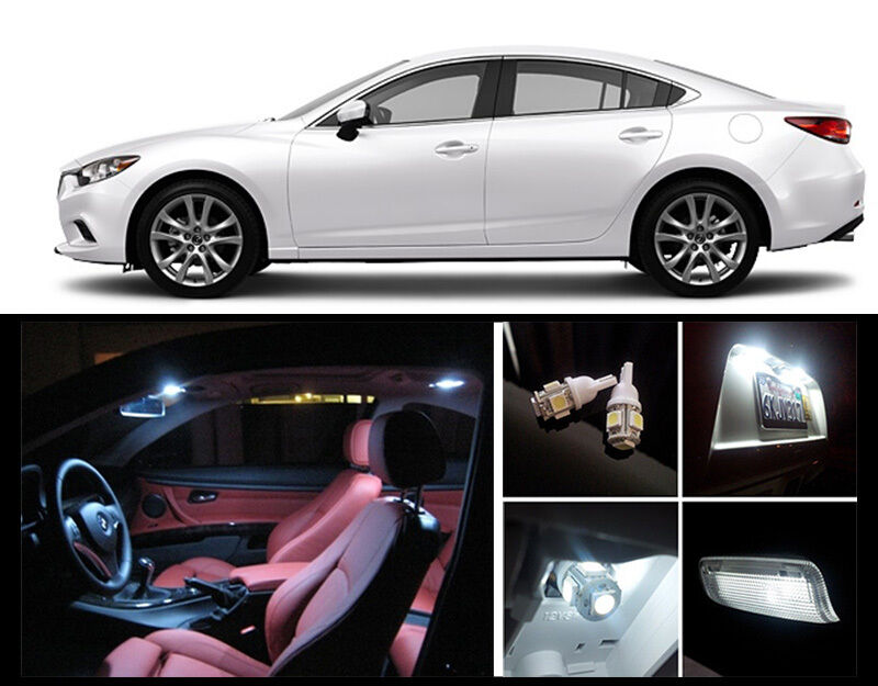 2014 2016 Mazda 6 Premium White Led Interior Package 7