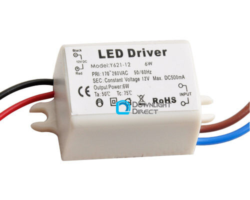 Led Power Supply Driver 6w 12v 0 5a For Mr16 Mr11 Home