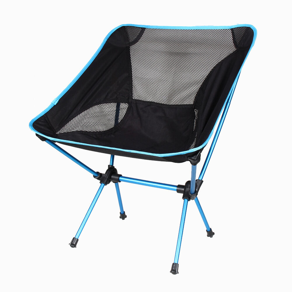 Portable Folding Chair Beach Seat Lightweight For Hiking
