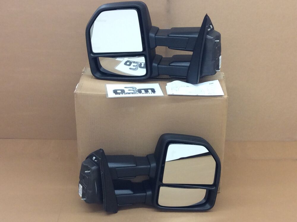 2015 2016 Ford F 150 Manual Trailer Tow Side View Mirror