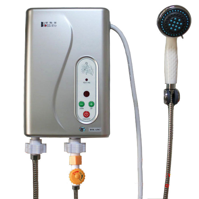 Electric Tankless Shower Hot Water System Water Heater